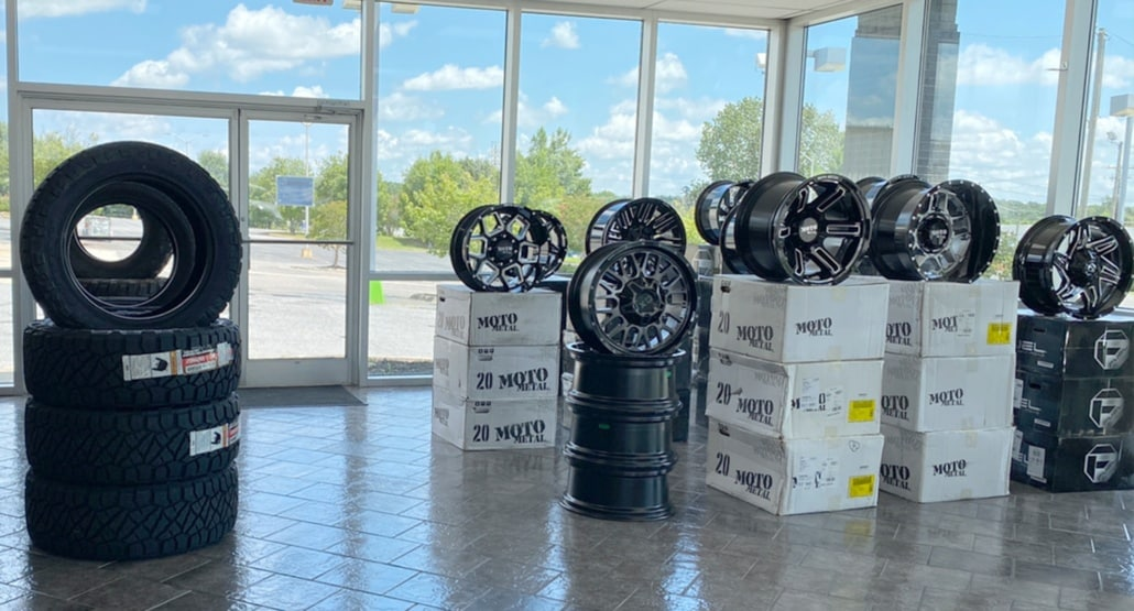 """Get your New Wheels and Tires """"All Terrain Tires / Mud Tires"""""""
